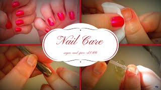 asmr manicure layerred sounds visuals soft spoken whisper sound effects