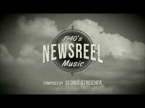 1940's Newsreel Music [Hollywood Strings, SM Brass]