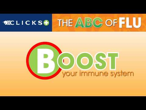 Clicks Pharmacy - Flu 2013 - The ABC of Flu - How flu smart are you.