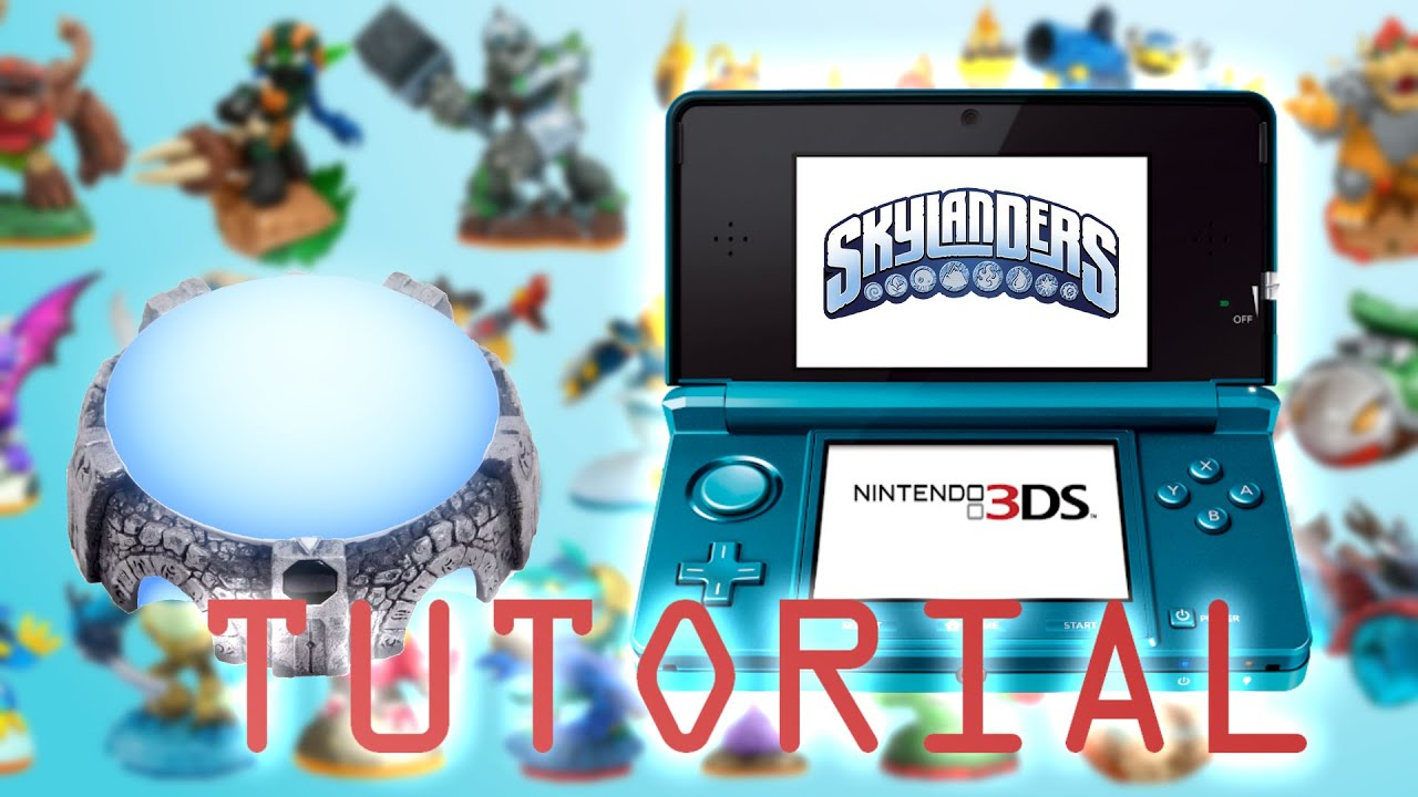 107b6fd2c170f3 How to use the portal of power on Skylanders 3DS - YouTube