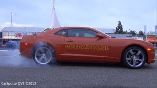 Chevrolet Camaro SS BURNOUT! (1080p HD)