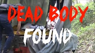 DEAD BODY FOUND WHILST EXPLORING ABANDONED TRAIN IN THE UK **FAKE**
