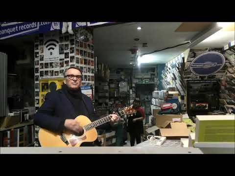 Chris Difford of Squeeze - Up The Junction - at Banquet Records
