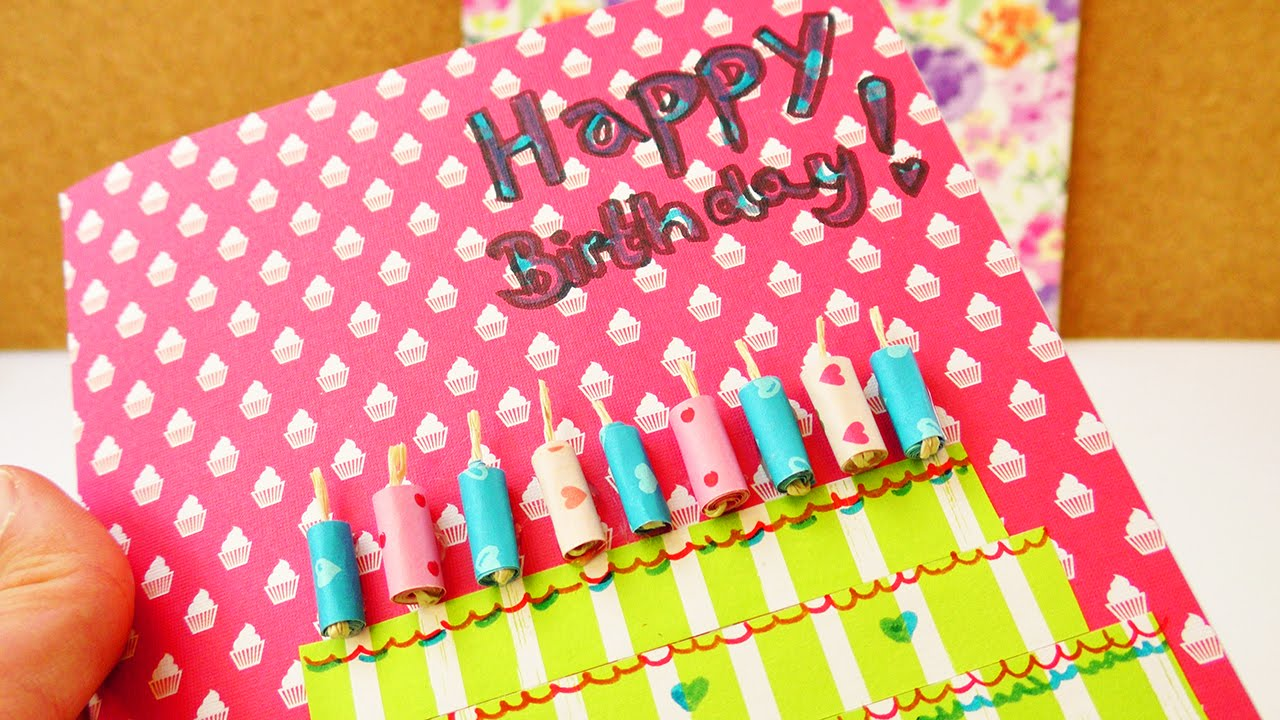 Birthday Cake Box Diy