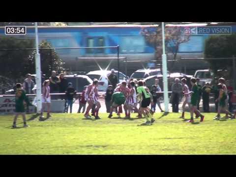 SMJFL 2014 Under 12 North   Oakleigh v Mordialloc Braeside