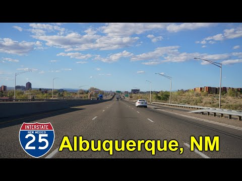 2K20 (EP 15) Interstate 25 North in Albuquerque, New Mexico