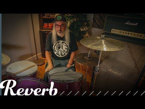J Mascis Plays Classic Punk Drum Beats  Reverb