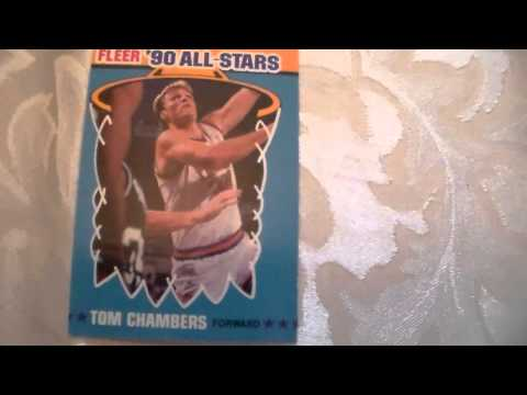 Basketball Card Fleer Tom Chambers