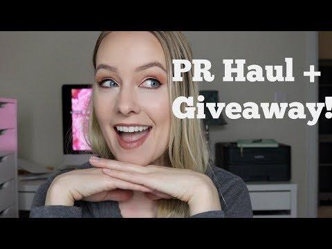 PR Haul + Boxycharm Giveaway!