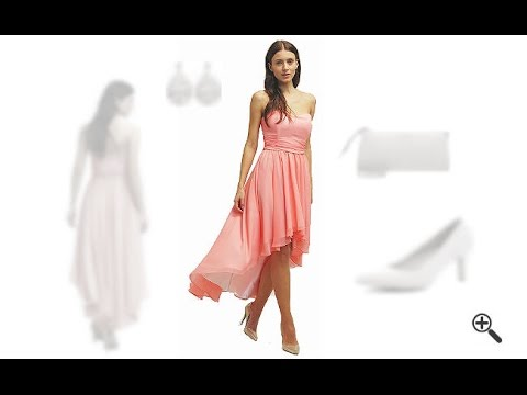 Violetta kleid vorne kurz hinten lang