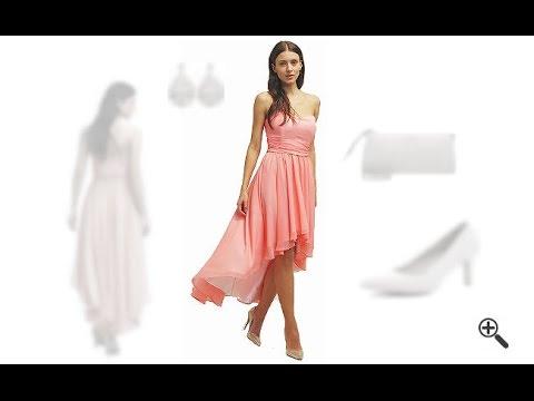 1e463ba154fa Kleider hinten lang vorne kurz + 3 Party Outfit Ideen für Wera