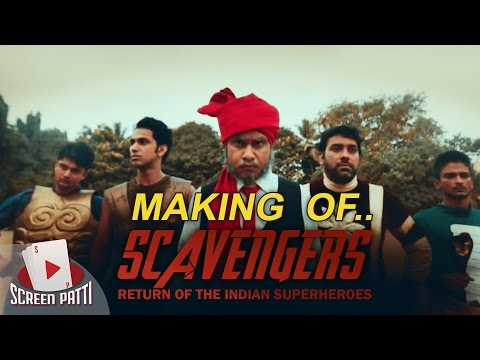 TSP || Behind The Scenes || Scavengers - The Return of Indian Superheroes