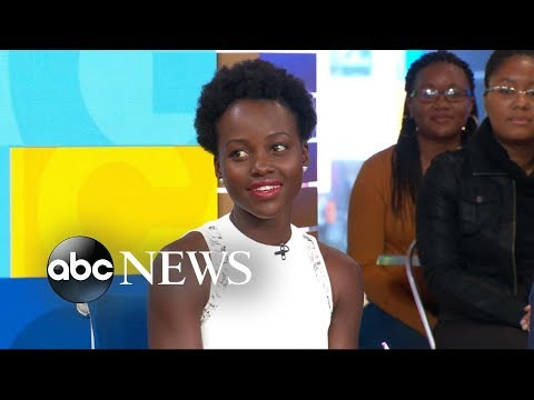 Lupita Nyong'o says 'Black Panther' director let the actors put their voices into the film
