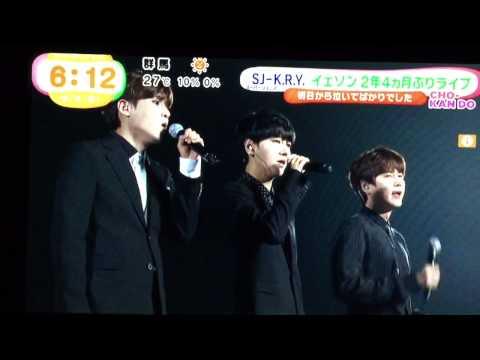 [TV] KRY Yokohama concert on JAPAN TV NEWS 3