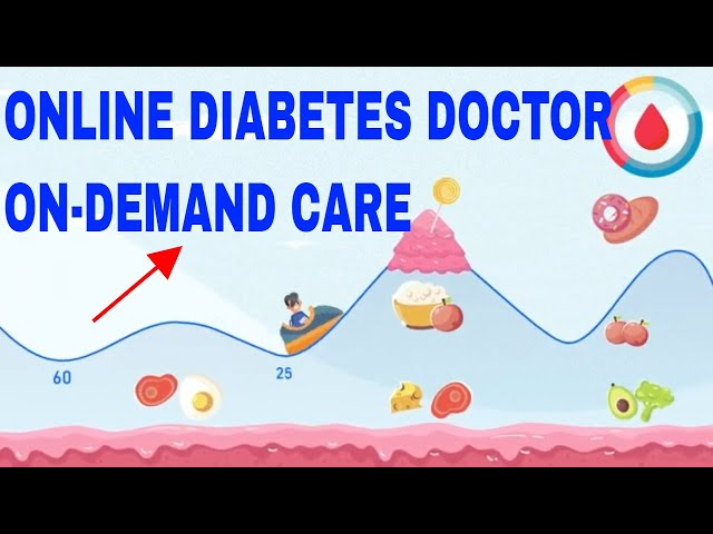 Online diabetes doctor with telehealth & telemedicine-ON DEMAND DIABETES CARE