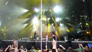 All Time Low, Weightless HD, live Rock am Ring '13, 09.06.2013