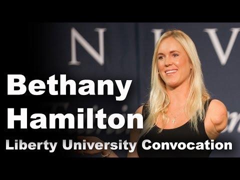 Bethany Hamilton - Liberty University Convocation