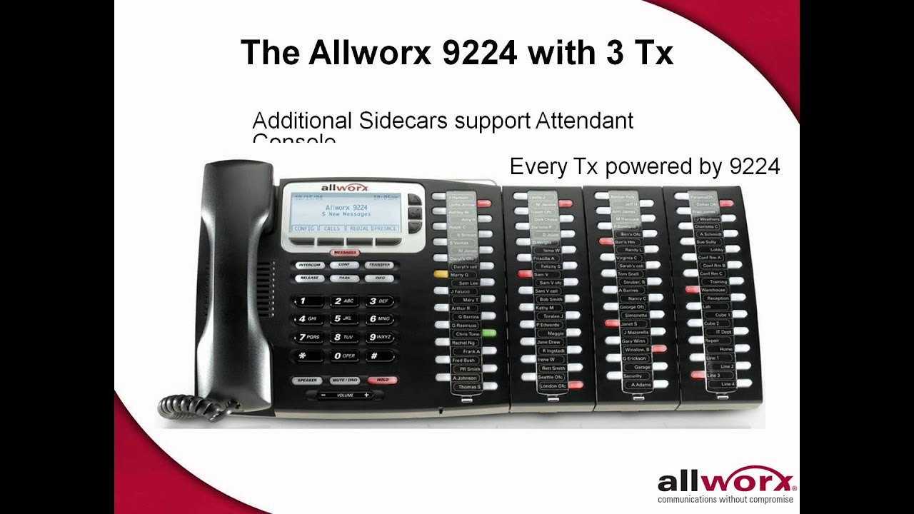 Small Biz Telephone Systems from Link High & Allworx