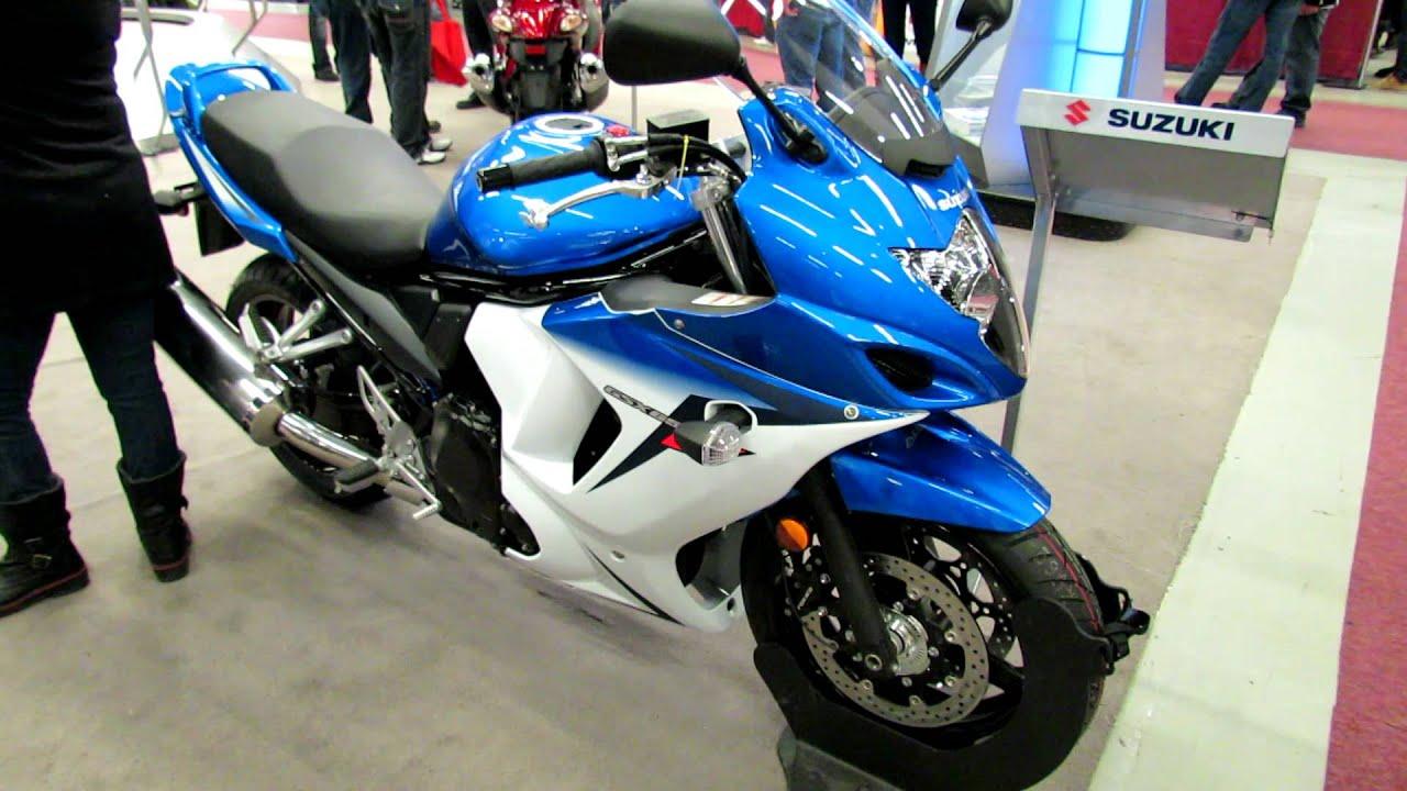 2012 Suzuki Gsx650f Abs At 2012 Montreal Motorcycle Show