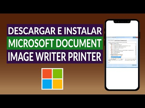 Cómo Descargar e Instalar Microsoft Document Image Writer Printer (MODI)