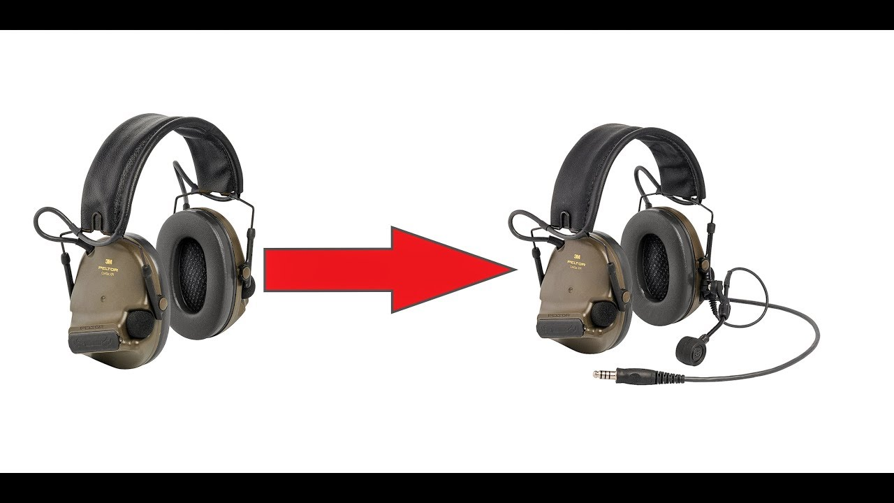 how to upgrade your peltor comtac xpi or xp to a communication headset [ 1280 x 720 Pixel ]