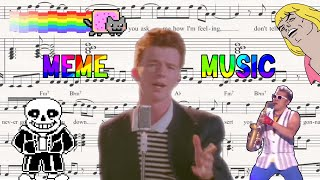 Ultimate Meme Music Compilation (Find your song)