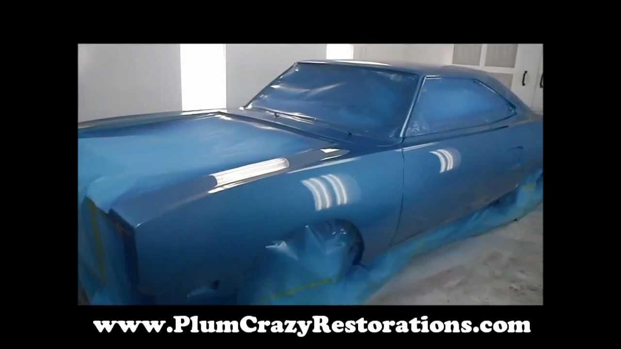 1970 Plymouth Roadrunner Paint B5 Blue Youtube