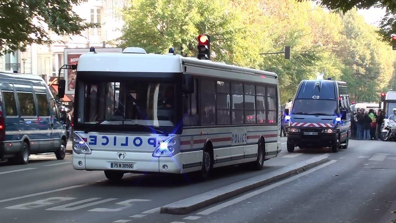 convoi transport d u0026 39 interpell u00e9s gendarmerie mobile    police nationale paris