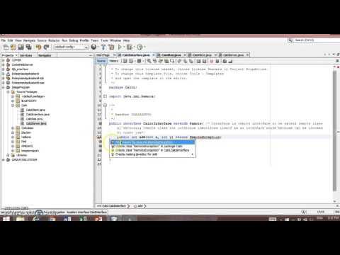 RMI Calculator using Java in Netbeans