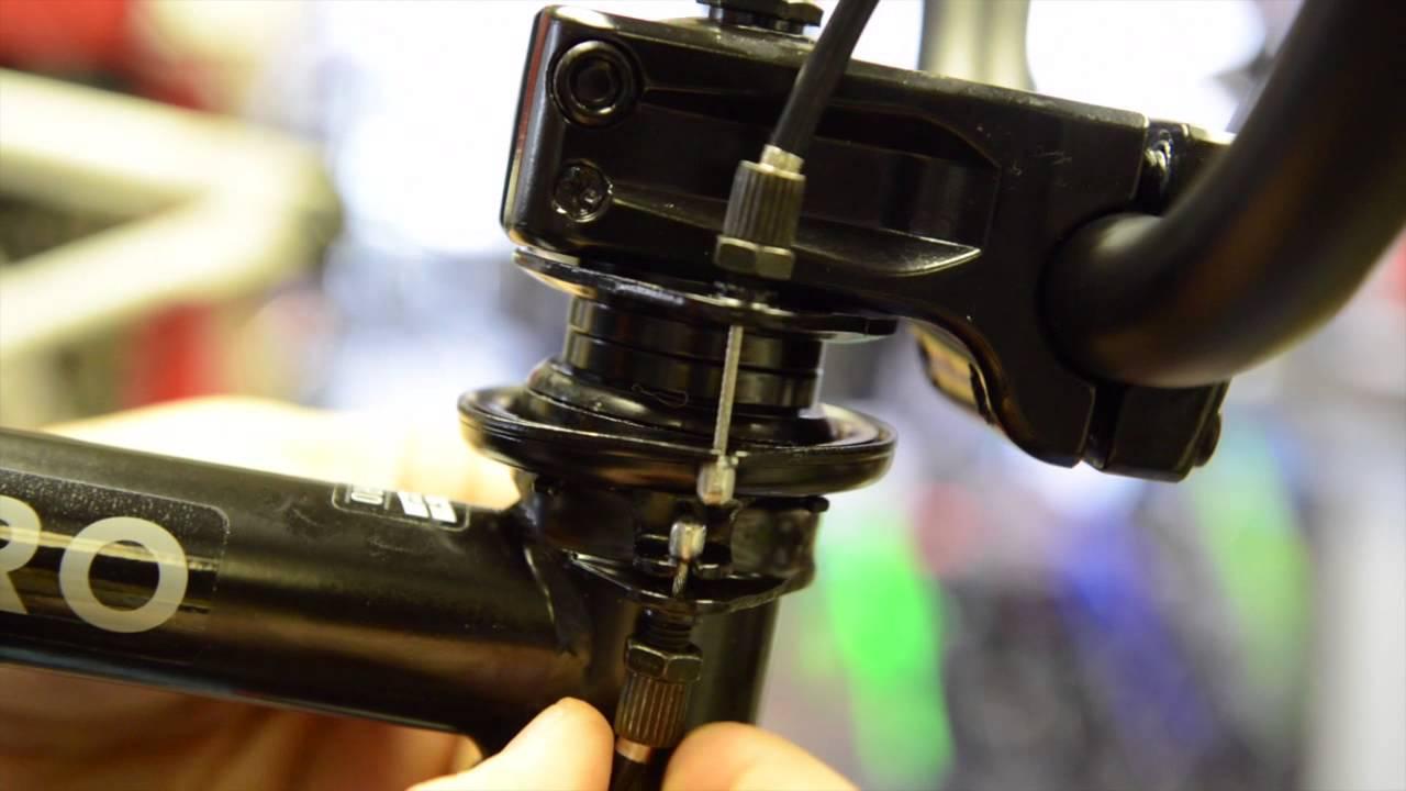 BMX  How to Setup Your Gyro Brake System  YouTube