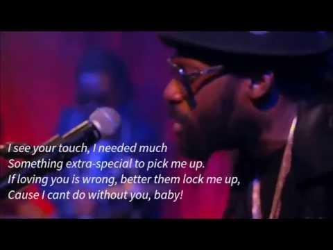 Tarrus Riley - Burning Desire( Official Video with lyrics Screen)