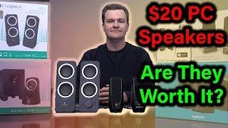 Video $20 PC Speakers - Logitech Z200 - Deal or No Deal? download MP3, 3GP, MP4, WEBM, AVI, FLV Agustus 2018