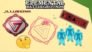 [NEW ELEMENTS!] ILLUSION Element Demonstrate (Showcase) | Roblox Elemental Battleground