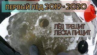 ЛЁД ТРЕЩИТ - ЛЕСКА ПИЩИТ !!!Жерлицы / Первый лёд 2019 - 2020 Первые трофеи сезона