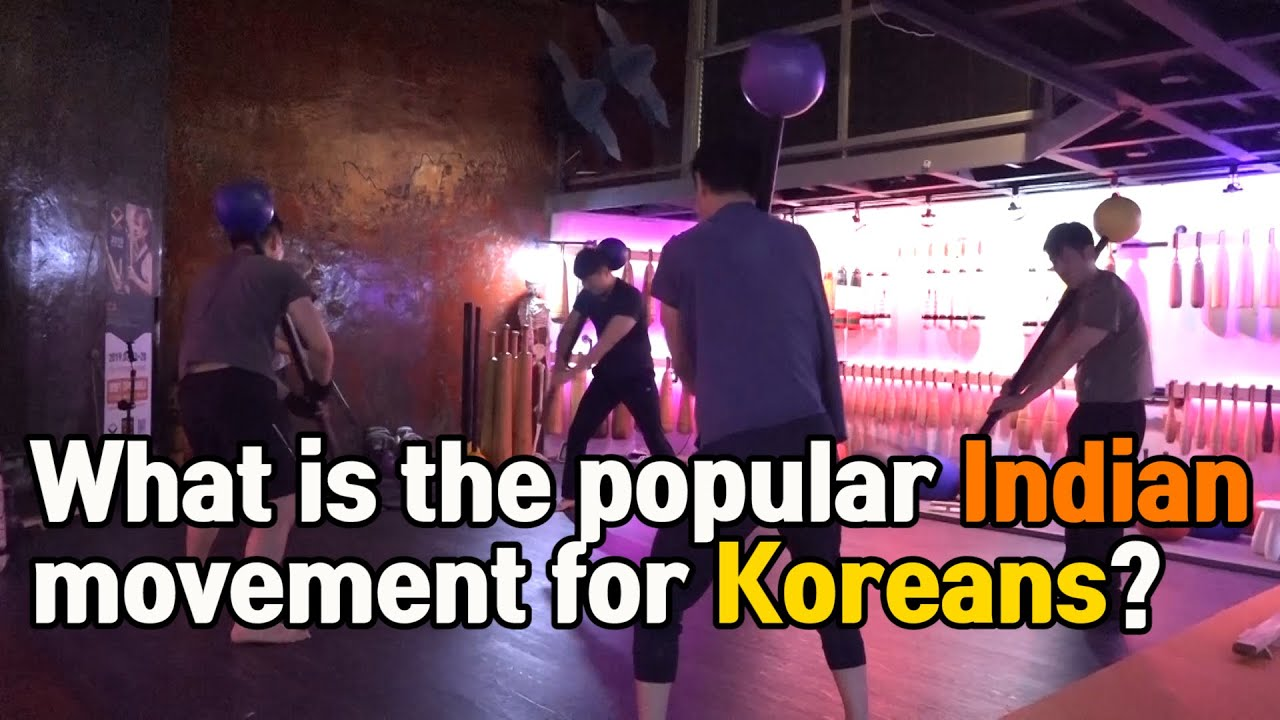What is the ancient Indian movement that Koreans fell in love with?