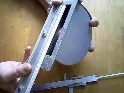 Штроборез из болгарки своими руками. Режет бетон вообще без пыли .