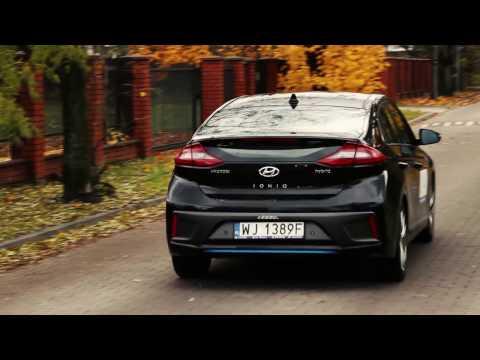 Hyundai Ioniq Hybrid 2016 test PL