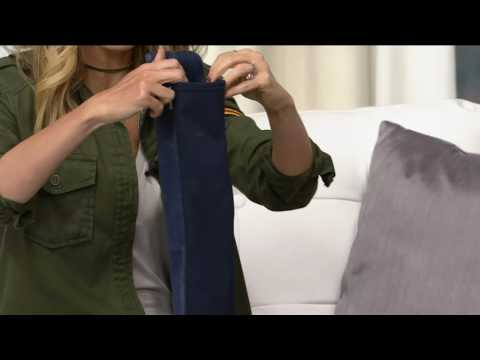 Marc Fisher Leather or Suede Over the Knee Boots - Idle on QVC