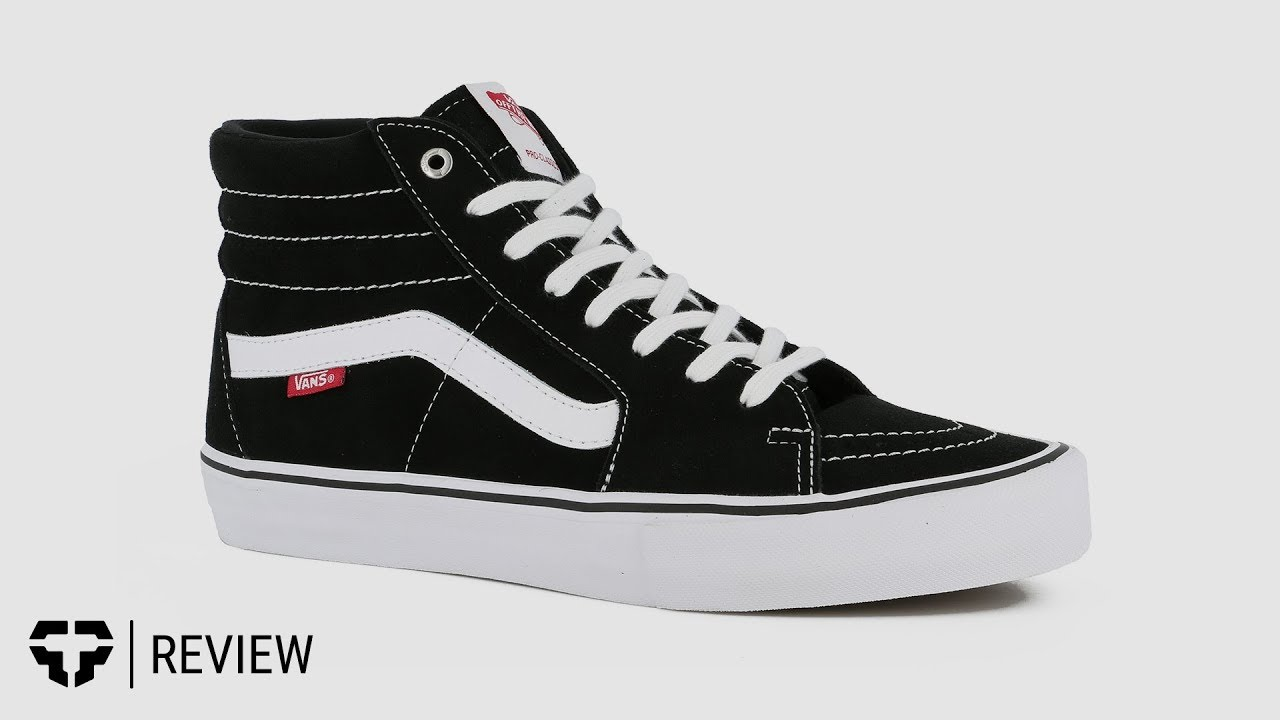 d781fbc41663 Vans Sk8-Hi Pro Shoe Review- Tactics - YouTube