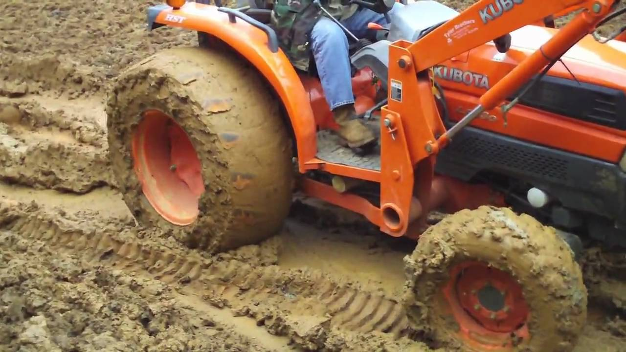Why We Needed A Four Wheel Drive Tractor Youtube