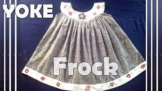 YOKE, yoke frock Cutting and stitching, Training classes for beginners, tailoring video tutorial tip