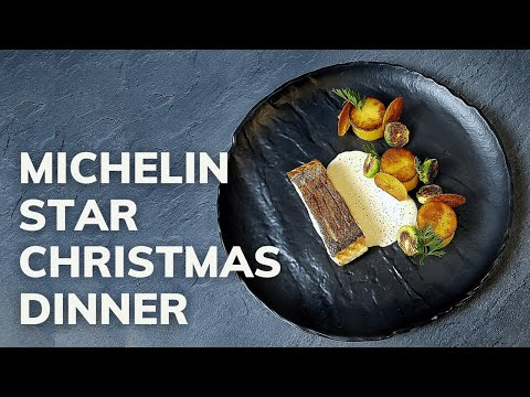 Michelin star CHRISTMAS SALMON recipe (Fine Dining Ideas At Home)