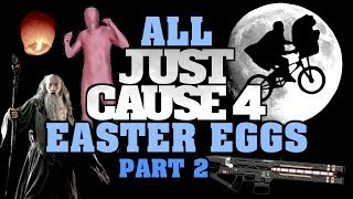 Just Cause 4 NEW Easter Eggs And Secrets | Part 2
