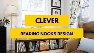 45+ Clever Reading Nooks Design & Decoration Ideas