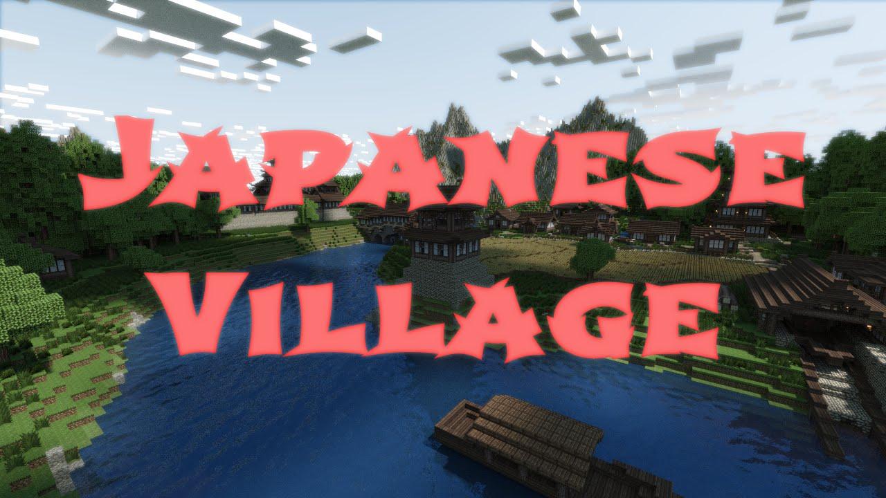 minecraft japanese village download youtube
