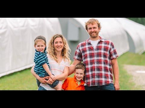 La famille Cantin-Roy : Pisciculture des Monts de Bellechasse