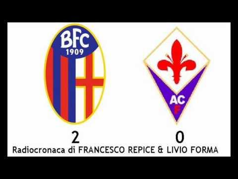 BOLOGNA-FIORENTINA 2-0 – Radiocronaca di Francesco Repice & Livio Forma (21/2/2012) da Radiouno RAI