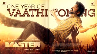One Year of Vaathi Coming - Master | Thalapathy Vijay | Anirudh Ravichander | Lokesh Kanagaraj