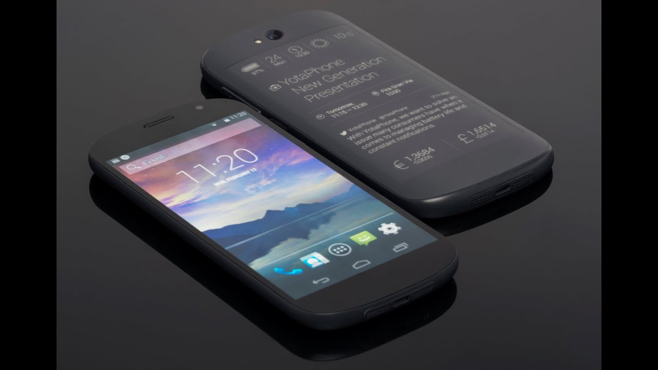 YotaPhone Dual Screen Smartphone with 2G,3G,4G,4 3 inch ...