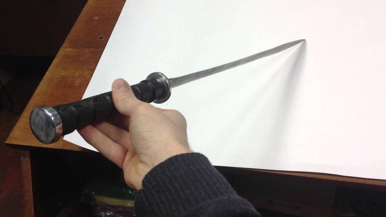 Древнеримский меч - Гладиус - YouTube
